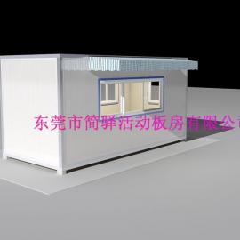 保温集装箱活动房,东莞简易保温集装箱房制造厂家