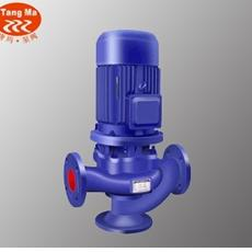 GW型管道式排污泵,立式管道排污泵,铸铁干式排污泵