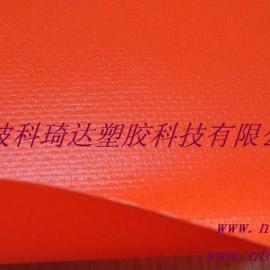 阻燃耐高温PVC玻纤夹网布导风筒面料