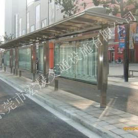 海南不锈钢候车亭,订做公交候车亭价格