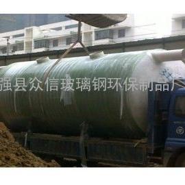 北京供应城市抗压力高效率玻璃钢化粪池厂家
