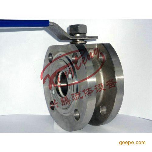 法兰上面采用不同数量的带螺纹的孔,用双头螺栓可以直接拧在球阀上面图片