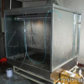 不锈钢水帘柜 喷漆水帘柜 水濂台