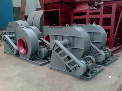 c4-73型除尘器专用引风机,叶轮q345猛钢耐磨;; 2 风机的装置,应用