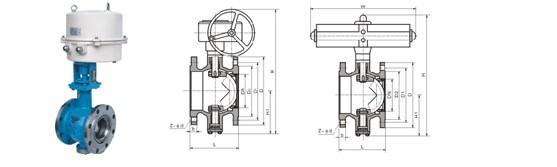 球阀***适宜做开关,切断阀使用,但近来的发展已将球阀设计成使它具有图片