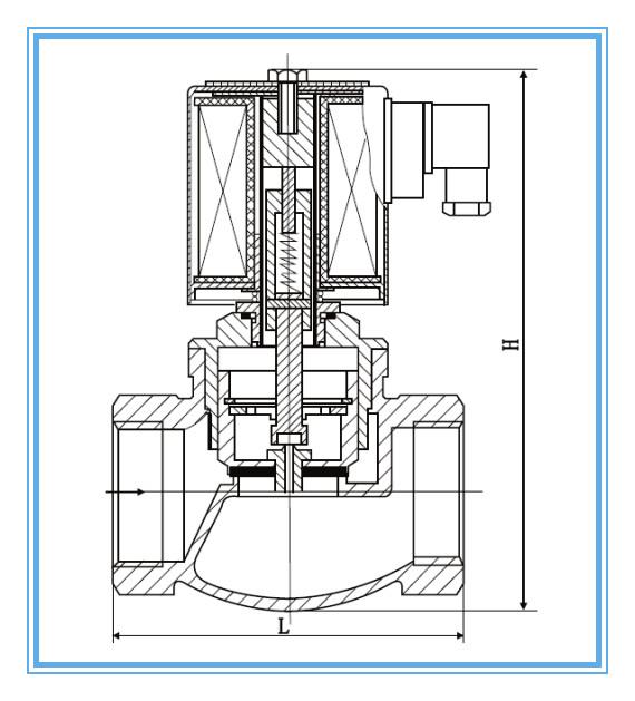 直动式蒸汽电磁阀图片