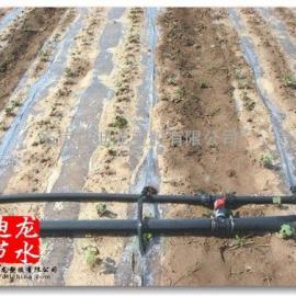 辽宁内镶贴片式滴灌带,温室大棚蔬菜滴灌带厂家