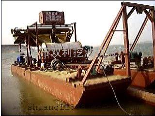日选35吨铁砂船/河南用吸铁船