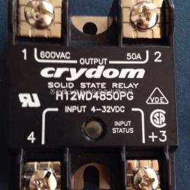 快达50A固态继电器H12WD4850PG
