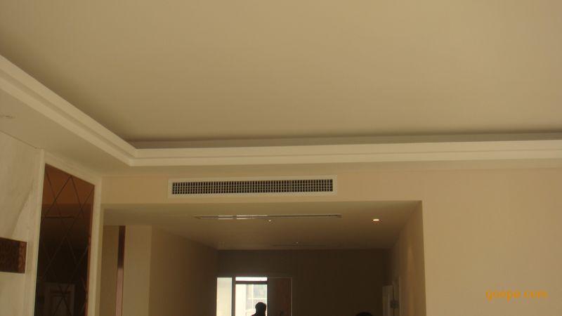 室内cad欧式吊顶中央空调节点