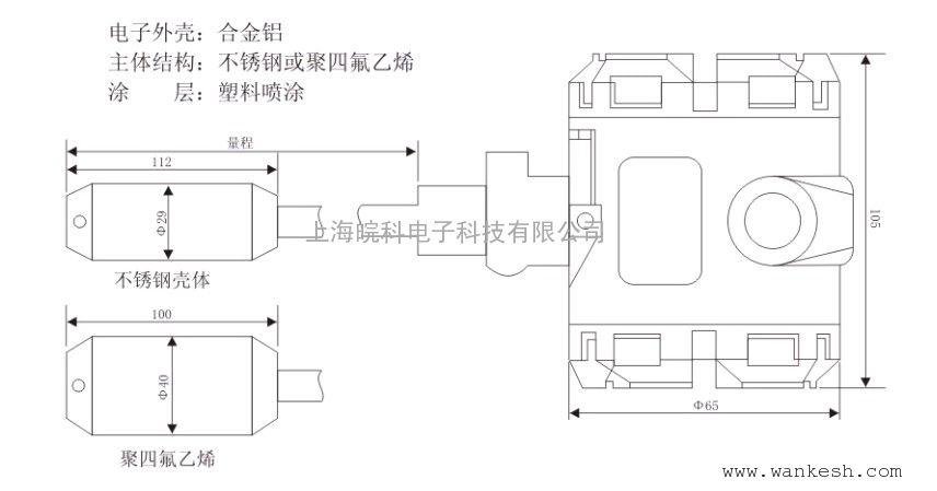 液体投入式传感器图片