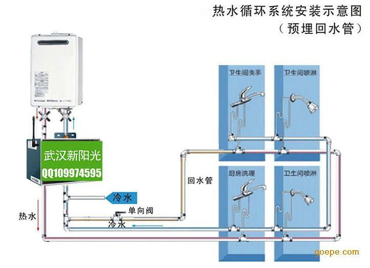 热水循环系统 热水循环水系统水泵