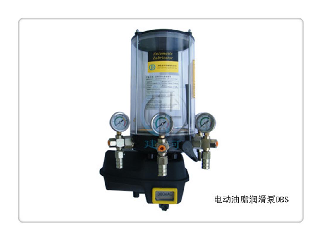 直销建河24V优质电动黄油润滑泵