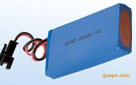 动力聚合物锂电池-深圳工矿灯聚合物锂电池图片
