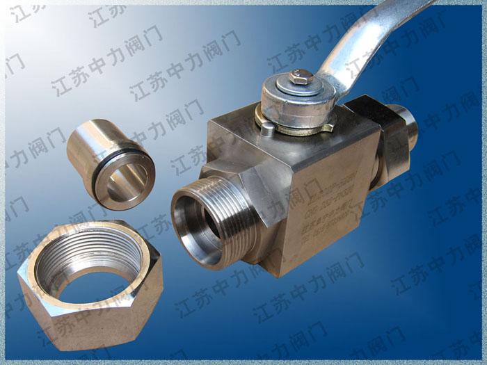 优质50MPa超高压焊接球阀