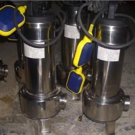 WQ25-15-3KW不锈钢潜水排污泵