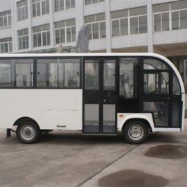 海南海口四轮电动22封闭观光车,电动接送领导载客车