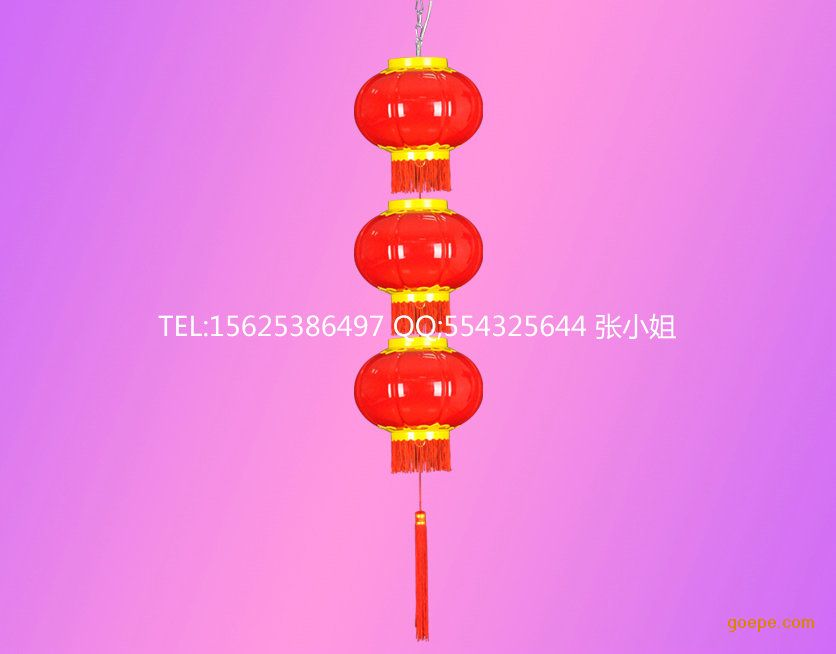 户外灯笼,一串串灯笼,塑料led红灯笼,led新款pmma材料