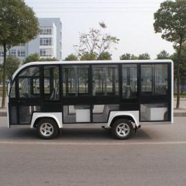 浙江温州四轮电动观光车,封闭观光车,封闭载客车