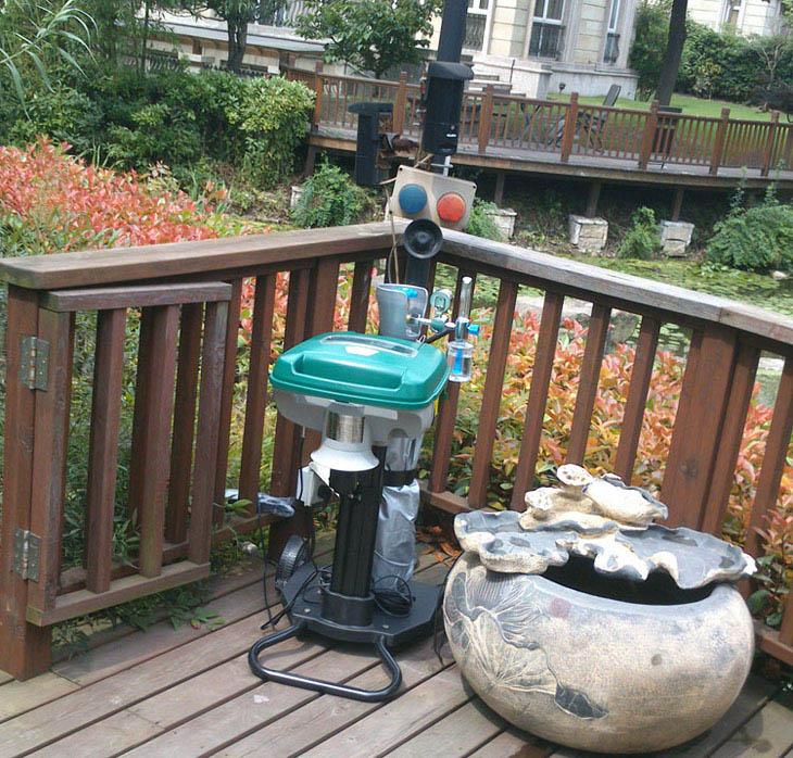别墅庭院驱蚊方法
