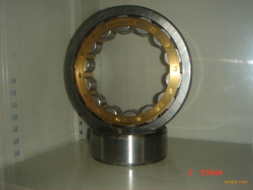 圆柱滚子轴承nu208ecp/c3  中国制造