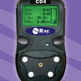 美国华瑞CD4便携式多参数气体探测器