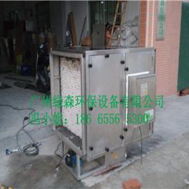 河南省驻马店高效水喷淋黑烟焊烟油雾净化器油水分离器工程