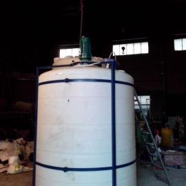 防腐化工搅拌调配罐5立方化工搅拌设备 10吨化工搅拌装置