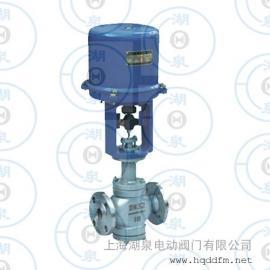 电动双座调节阀ZAZN-16,DN150 PN16电动调节阀门
