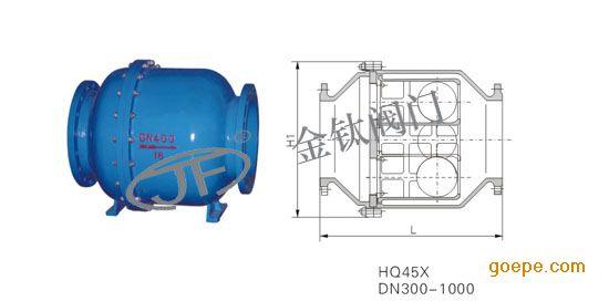 厂家直销hq45x微阻球形止回阀【浙江金钛直销】图片