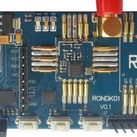 定制RF模块SI4463测试地板