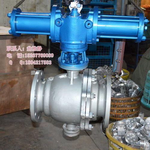 q741f液动球阀,液控球阀特点 :    液动球阀设计结构合理,强度高,在