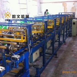 福建哈文机械五面气球印刷机 双色印花设备 气球丝印机