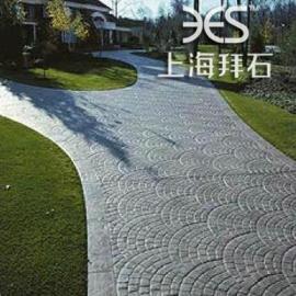 拜石直供广东广西停车场压模地坪-水泥压花-压模混凝土施工