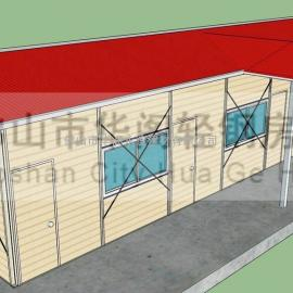 增城活动板房,增城集装箱房,轻钢活动房设计,增城搭彩钢板房