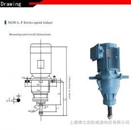 百官冷却塔专用减速机NGW-L-F