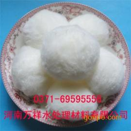 甘肃】高效吸油剂纤维球厂家, 半软性填料出厂价