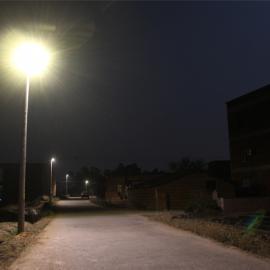 锂电池太阳能路灯12W