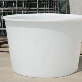 厂家供应食品级敞口塑料圆桶500L 塑料腌制桶