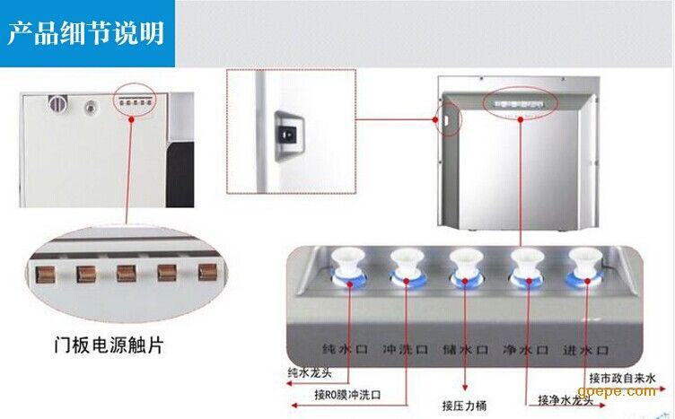 欧式定制酒柜效果图内置直饮机