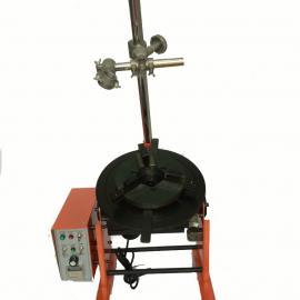 济南上弘300公斤焊接变位机带焊接卡盘,通孔焊接变位机