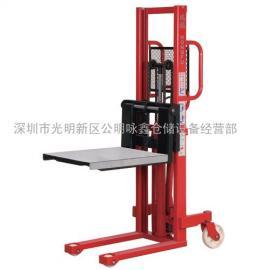 深圳鸿福手动液压模具堆高机
