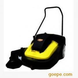 开天道路清扫车,手推式电瓶扫地机 电瓶式街道马路吸尘清扫车