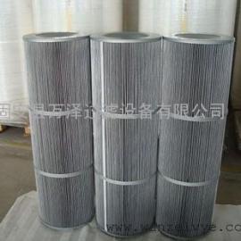 发电厂专用防爆粉尘滤筒 灰色覆膜粉尘滤筒厂家