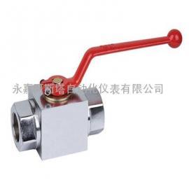 专业生产精小型YJZQ高压液压球阀-阿斯塔阀门