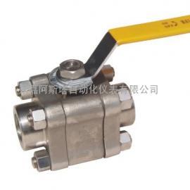 *生产精小型高压锻打小型球阀-阿斯塔阀门