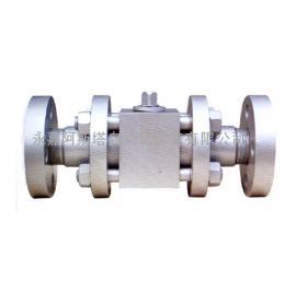 专业生产精小型三段式高压法兰球阀-阿斯塔阀门