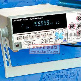 日本ADCMT 7351E 5位半台式万用表
