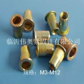 临沂拉铆螺母、GB17880.1、平头铆螺母、竖纹拉铆螺母
