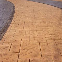 压模地坪,小区,广场路面装饰首选项目